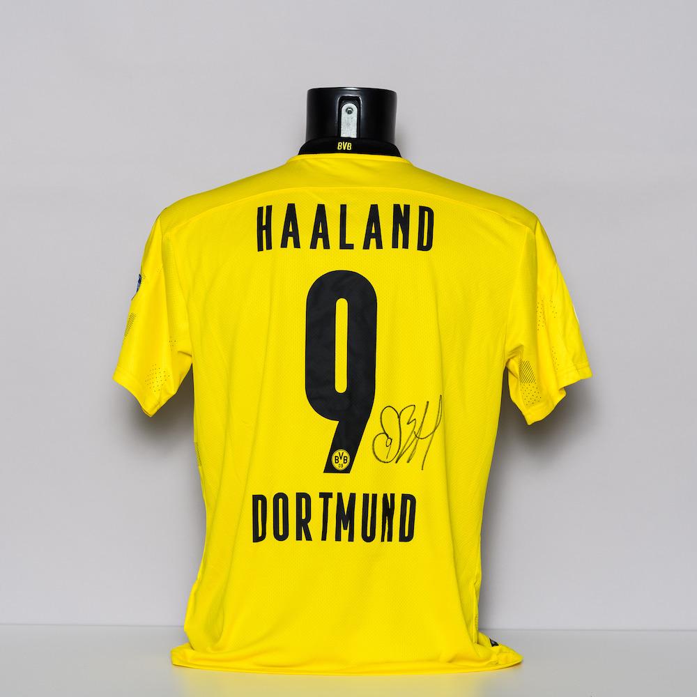 20/21 Borussia Dortmund Jersey - signed by Erling Braut Haaland