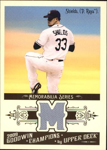 Photo of 2009 Upper Deck Goodwin Champions Memorabilia #JA James Shields