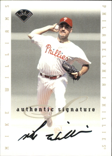 Photo of 1996 Leaf Signature Extended Autographs #215 Mike Williams