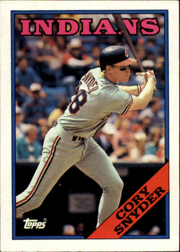 Photo of 1988 Topps #620 Cory Snyder
