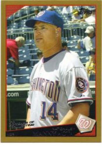 Photo of 2009 Topps Gold Border #318 Manny Acta MG