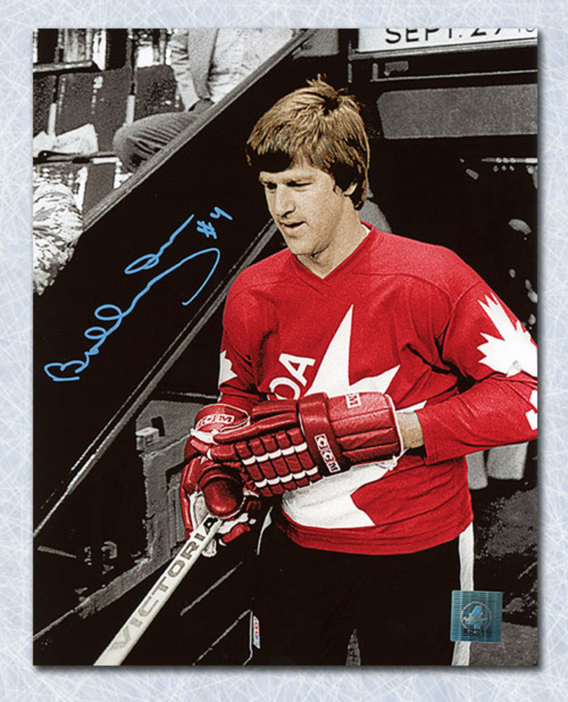 Bobby Orr Team Canada Autographed 1976 Canada Cup Color ...