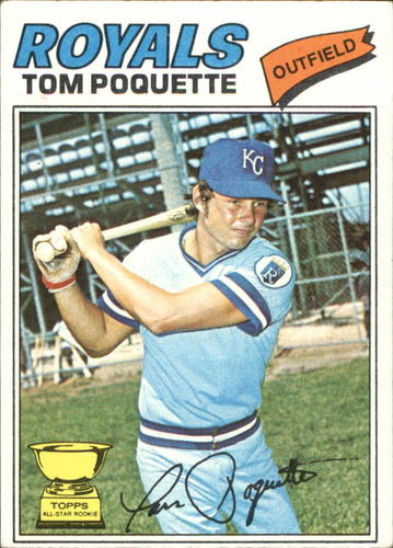 Photo of 1977 Topps #93 Tom Poquette