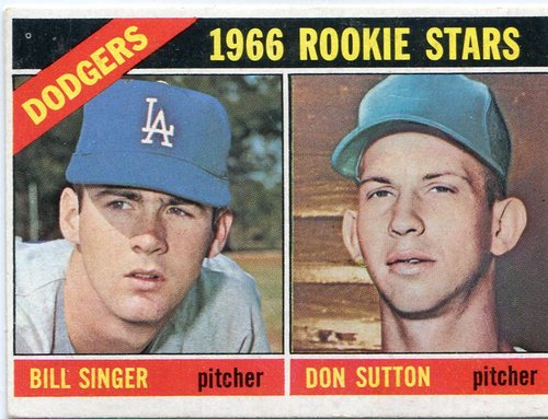 Photo of 1966 Topps #288 Rookie Stars Don Sutton -- Hall of Famer