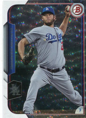 Photo of 2015 Bowman Silver Ice #1 Clayton Kershaw
