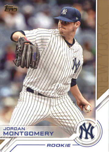 Photo of 2017 Topps Update Salute #USS35 Jordan Montgomery