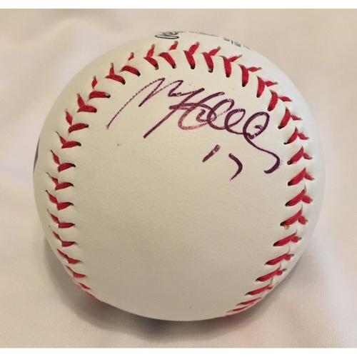 Photo of AutographedMatt Holliday Baseball - Not MLB Authenticated