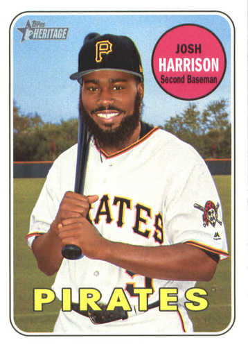Photo of 2018 Topps Heritage #105 Josh Harrison