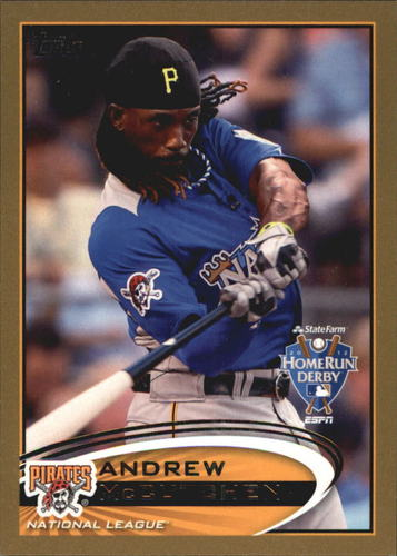 Photo of 2012 Topps Update Gold #US9 Andrew McCutchen