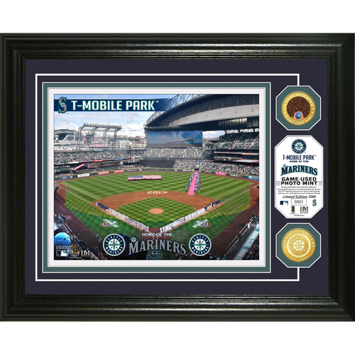 Photo of Seattle Mariners Dirt Coin Photo Mint