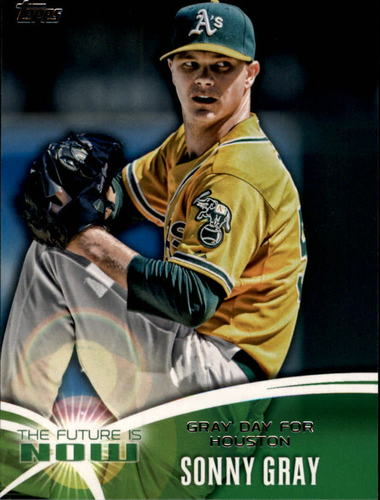 Photo of 2014 Topps The Future is Now #FN47 Sonny Gray