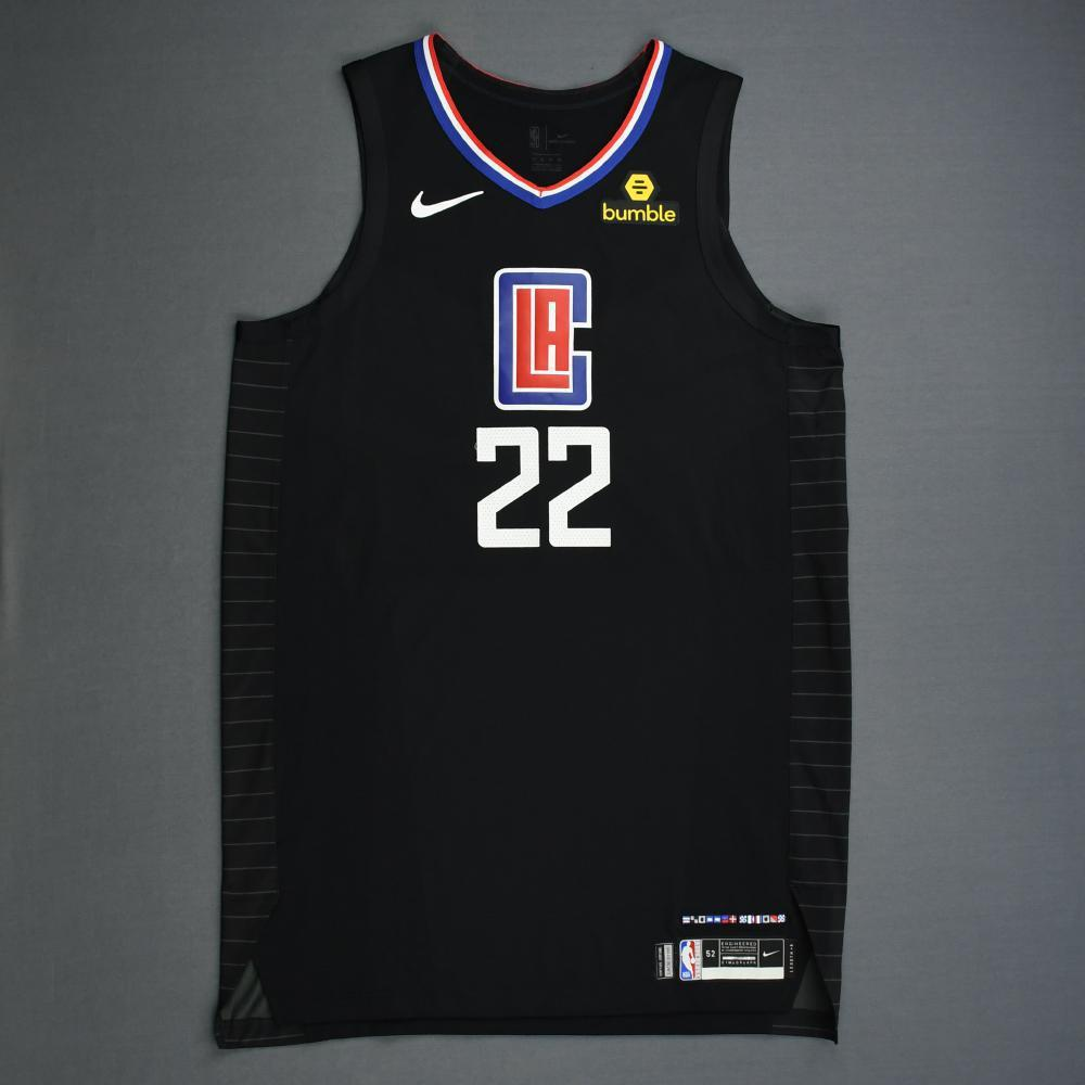 Wilson Chandler - Los Angeles Clippers - 2019 NBA Playoffs - Game-Worn Black Statement Edition Jersey