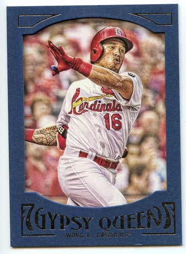 Photo of 2016 Topps Gypsy Queen Framed Blue #57 Kolten Wong