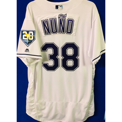 Photo of Team Issued Devil Rays Jerseys: Vidal Nuno (size 48)