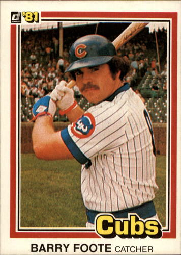Photo of 1981 Donruss #558 Barry Foote