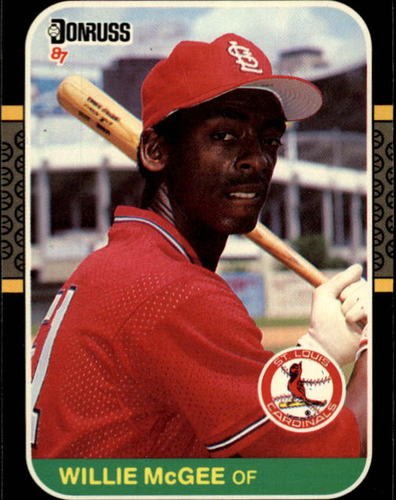 Photo of 1987 Donruss #84 Willie McGee