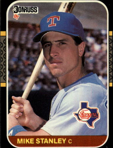Photo of 1987 Donruss #592 Mike Stanley RC