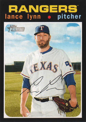 Photo of 2020 Topps Heritage #169 Lance Lynn