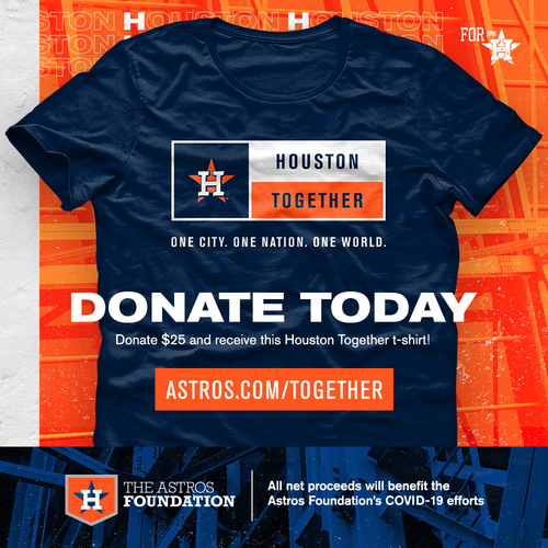 "Photo of Houston Astros ""Houston Together"" T-Shirt - Choose your Size!"