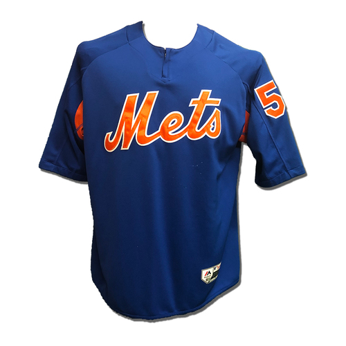Photo of #58 Team Issued Batting Practice Pullover - 2019 Season