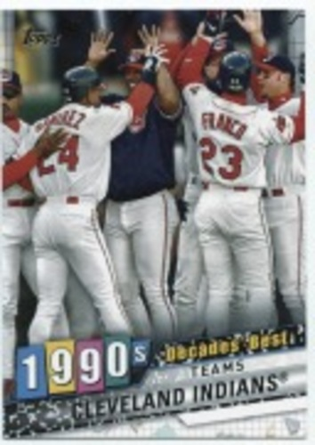 Photo of 2020 Topps Decades' Best Series 2 #DB73 Cleveland Indians