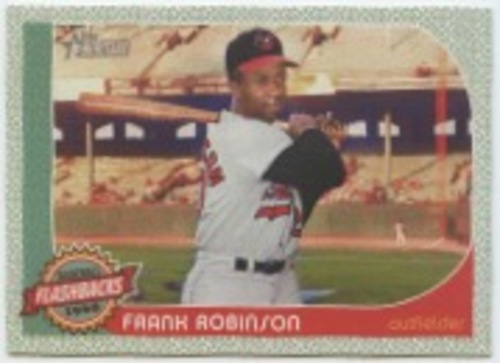 Photo of 2017 Topps Heritage Baseball Flashbacks #BFFR Frank Robinson