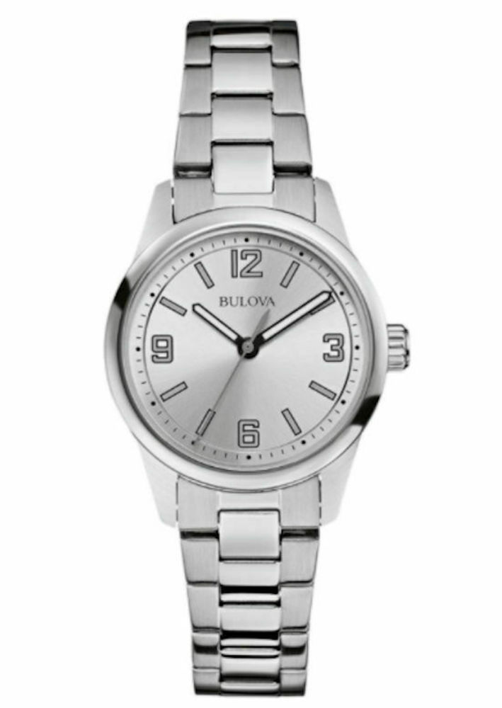 Photo of Bulova Women's Silver Stainless-Steel Quartz Watch
