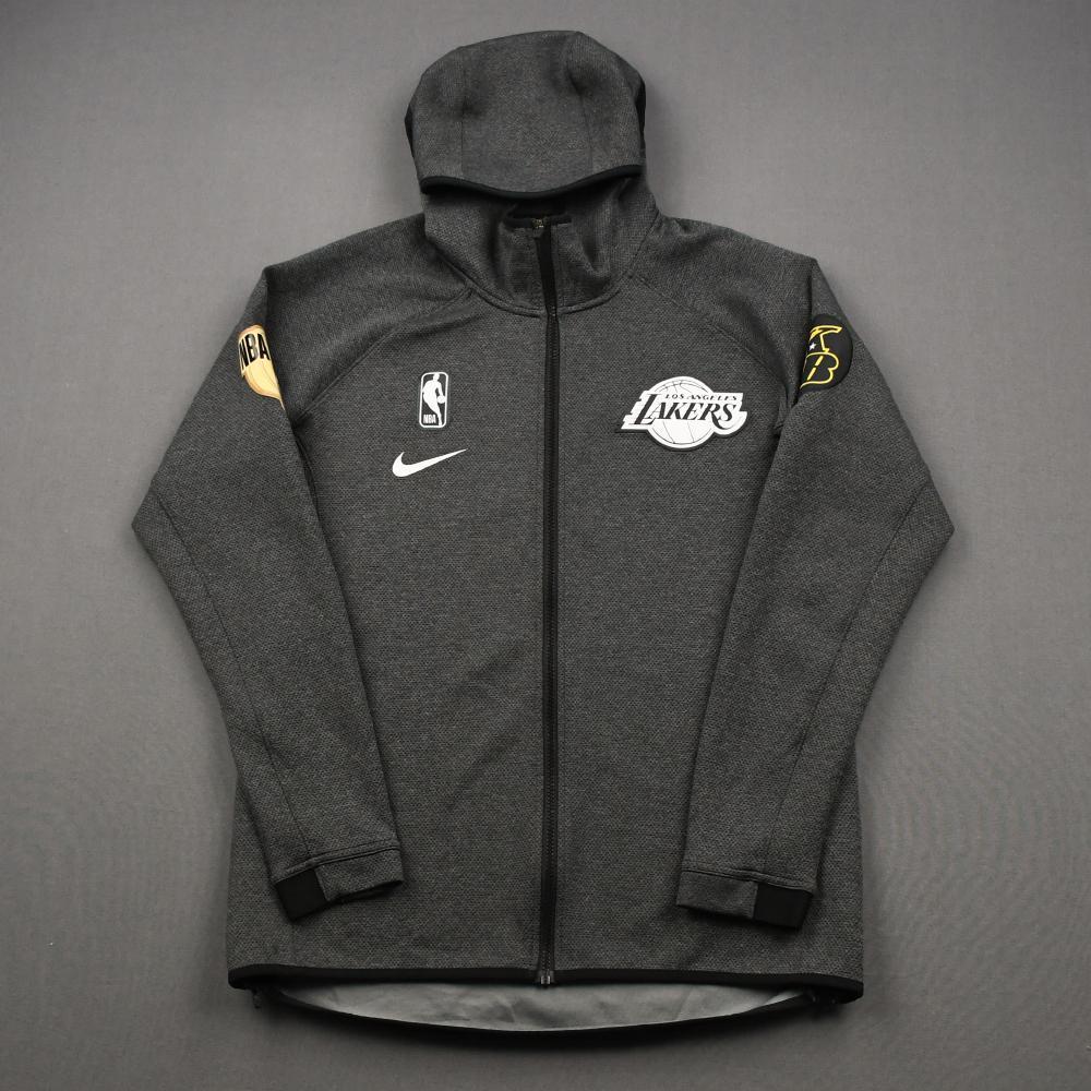 Rajon Rondo - Los Angeles Lakers - 2020 NBA Finals - Game-Worn Hooded Warmup Jacket