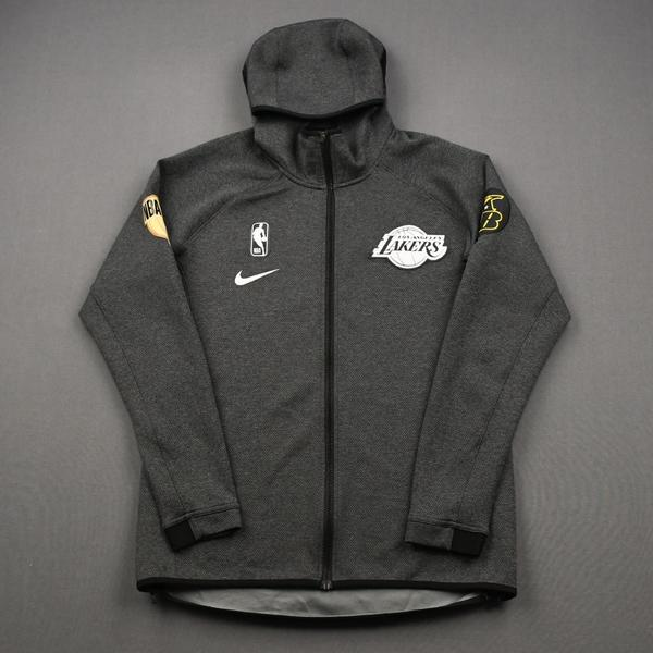 Image of Rajon Rondo - Los Angeles Lakers - 2020 NBA Finals - Game-Worn Hooded Warmup Jacket