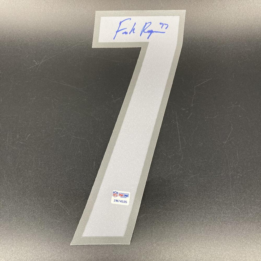 NFL - Lions Frank Ragnow Signed Jersey Number