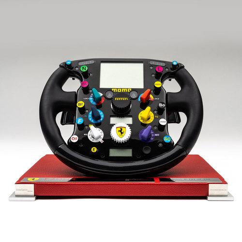 Photo of Michael Schumacher 2004 1:1 Scale Model Ferrari Steering Wheel
