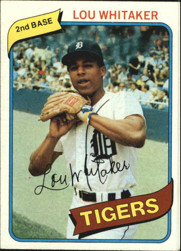 Photo of 1980 Topps #358 Lou Whitaker
