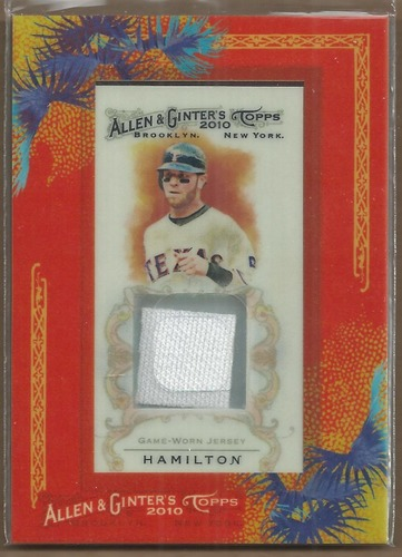 Photo of 2010 Topps Allen and Ginter Relics #JH Josh Hamilton