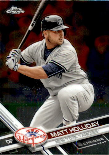 Photo of 2017 Topps Chrome #3 Matt Holliday