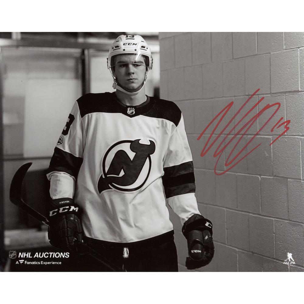 Nico Hischier New Jersey Devils Autographed 8