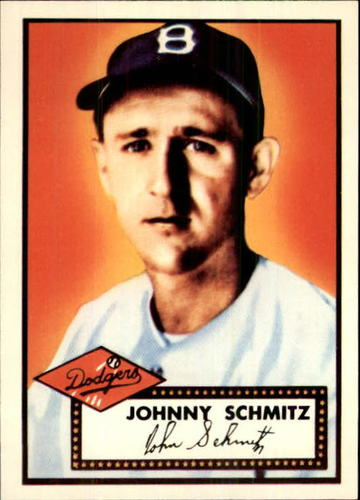 Photo of 1983 Topps 1952 Reprint #136 Johnny Schmitz