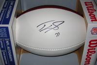 NFL - COWBOYS TYRON SMITH SIGNED PANEL BALL