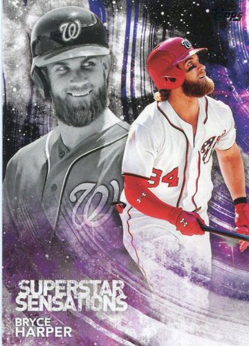 Photo of 2018 Topps Superstar Sensations #SSS31 Bryce Harper