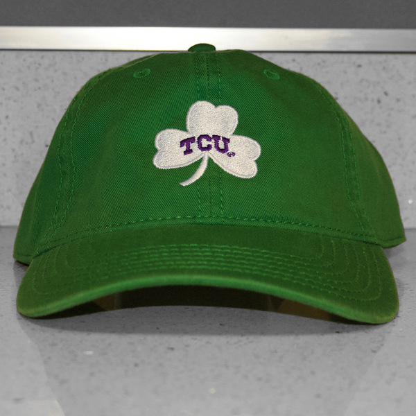 Photo of TCU Baseball Green St. Patrick's Day Hat (B)