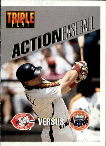 Photo of 1993 Triple Play Action #12 Jeff Bagwell