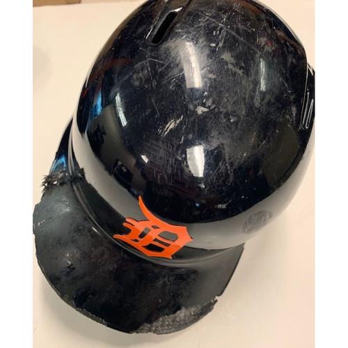 Team-Issue Road Batting Helmet: Leonys Martin