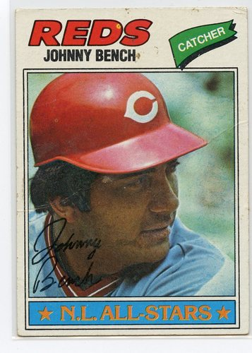 Photo of 1977 Topps #70 Johnny Bench