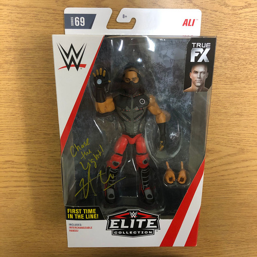 Photo of Ali SIGNED Elite Series Action Figure