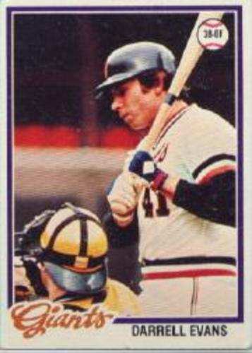 Photo of 1978 Topps #215 Darrell Evans
