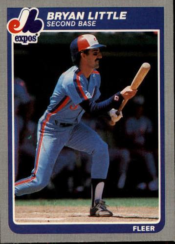 Photo of 1985 Fleer #402 Bryan Little