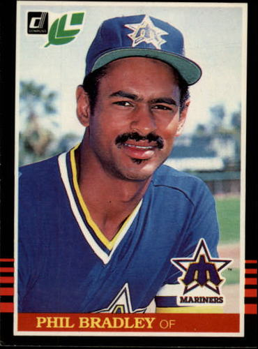 Photo of 1985 Leaf/Donruss #50 Phil Bradley
