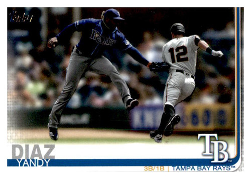 Photo of 2019 Topps Update #US68 Yandy Diaz