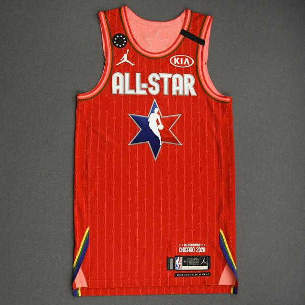 Image of TraeYoung - 2020 NBA All-Star - Team Giannis - Autographed Jersey