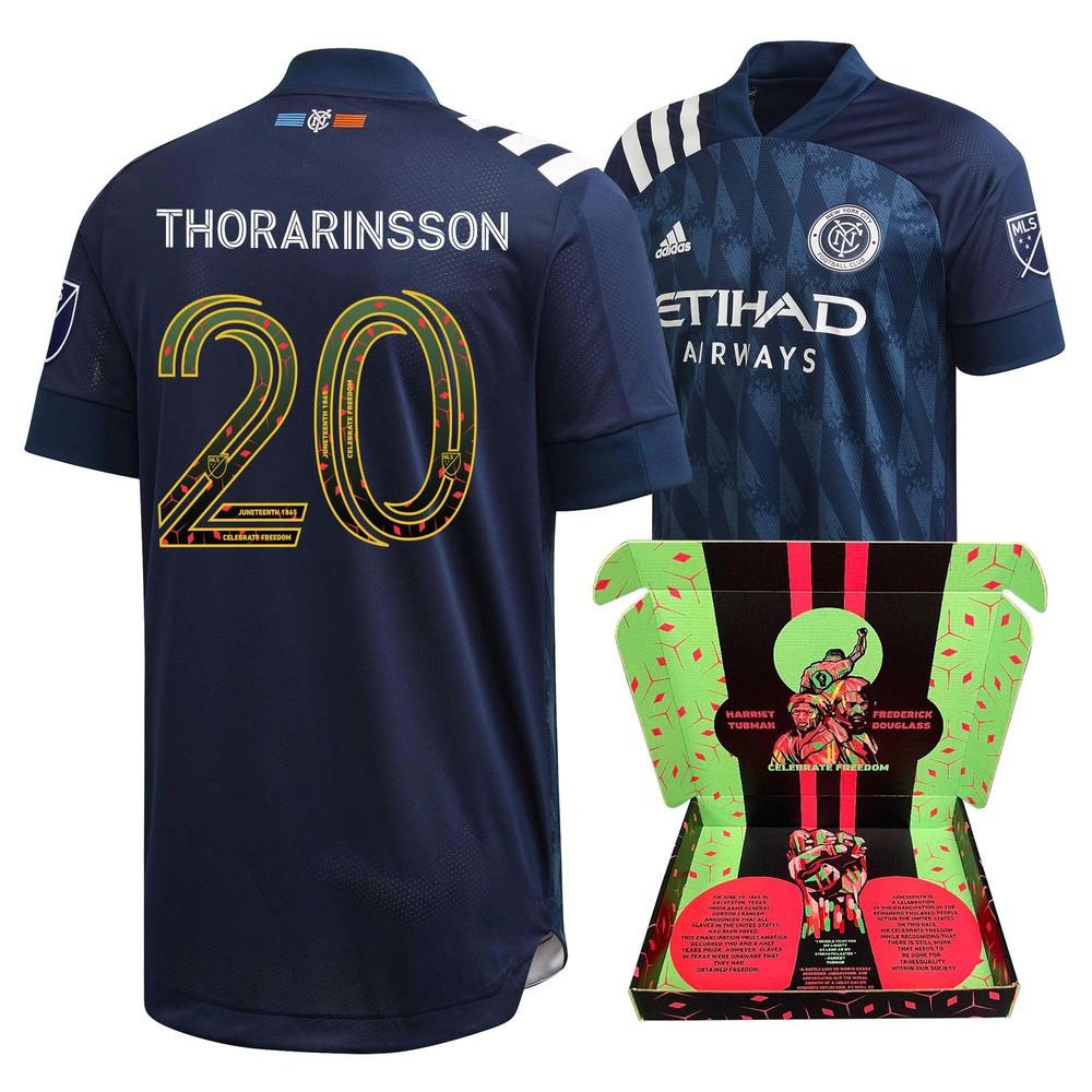 Gudmundur Thorarinsson New York City FC Player-Issued & Signed