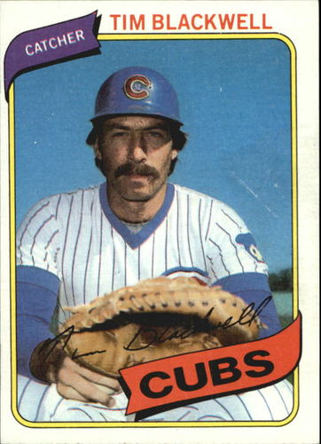 Photo of 1980 Topps #153 Tim Blackwell